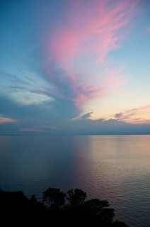 Pastel Sunset Over Lake Erie