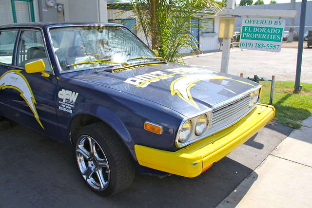 San Diego Chargers Car Front Angle Flickr Photo Sharing