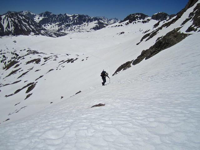 Climbing Pinchot Pass