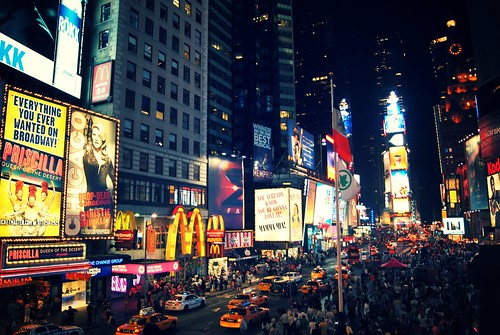 Times Square at Night, New York City 0001