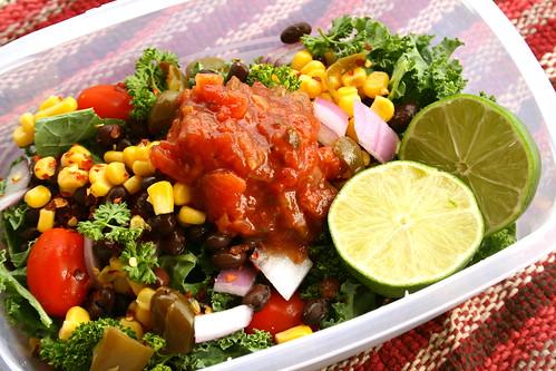 fiesta kale salad