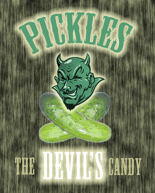 pickles are the devil