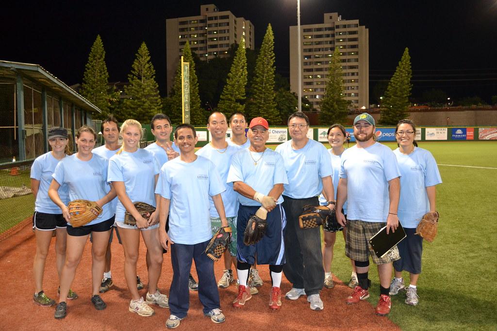 <p>The Leeward Community College team for the UH AUW Softball Tourment at Les Murakami Stadium on Sept. 30, 2011</p>