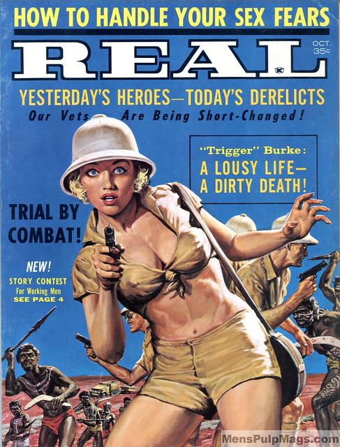 REAL, October 1962. Art by Shannon Stirnweis
