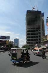 Phnom Penh : Stopped construction project