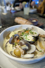 Clam Chowder, Hog Island Oyster Co., Ferry Building Marketplace, San Francisco