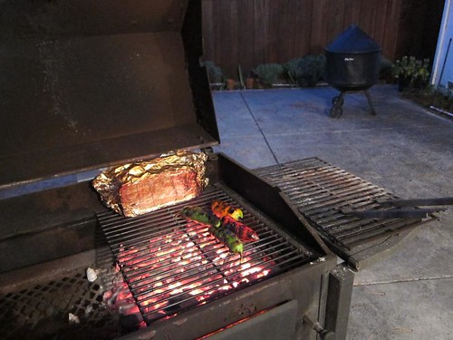 Roasting, wood fire, anaheim chili, lamb chops IMG_8131