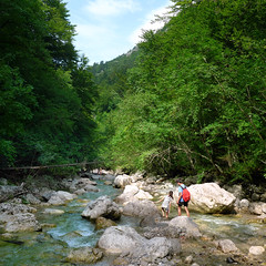 Along with the numerous rapids, pools and waterfalls of Iška