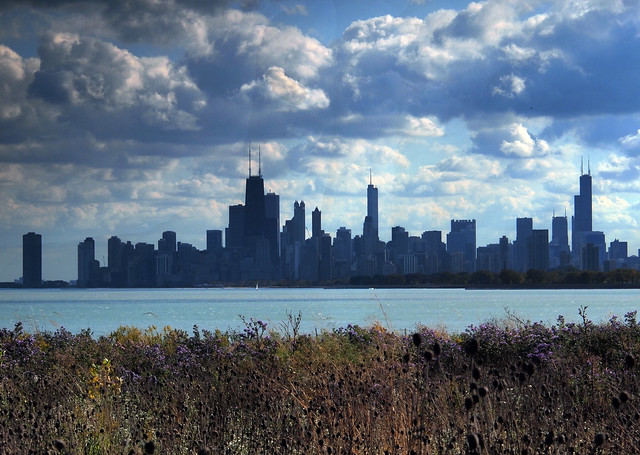 Chicago skyline - Flickr CC picken
