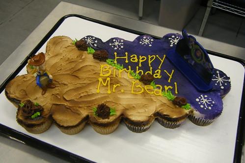 Toy Story Cupcake Cake