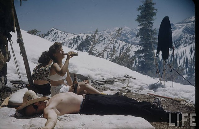 lifemag georgesilk sunvalley 1958