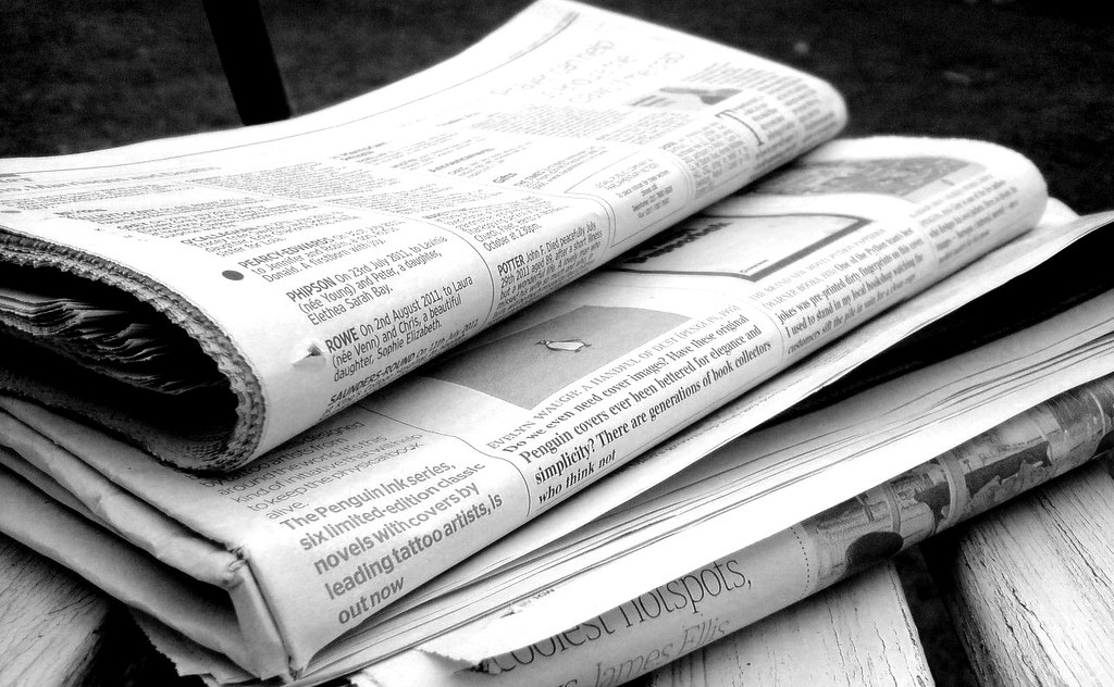Newspapers B&W (5)