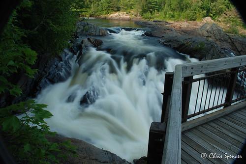ontario waterfalls massey thechutes