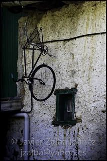 Pared con Bici