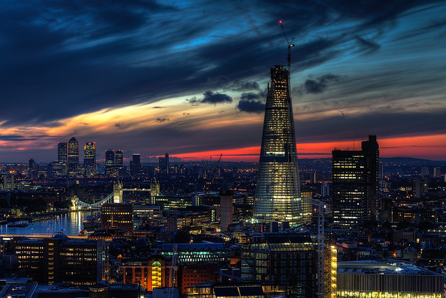 Shard Sunrise