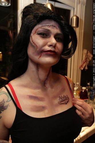 Blake's   sharpie tattoo on undead amy winehouse    MG 6600