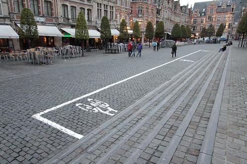 Fietsparkeervak op de Oude Markt, foto 2