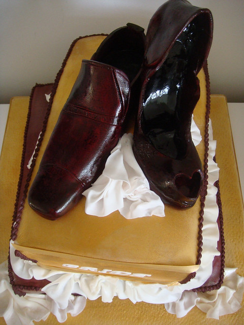 Shoes Wedding Cake