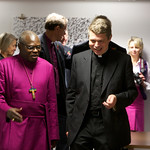 The Archbishop of York with NTU Chaplain Richard Davey