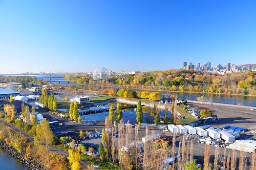 Parc Jean-Drapeau et Montréal