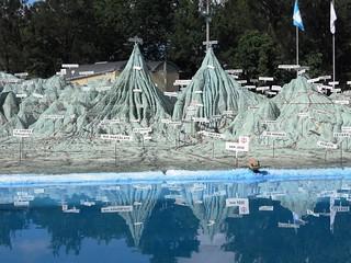 1Mapa en relieve en relieve de Guatemala de Francisco Vela