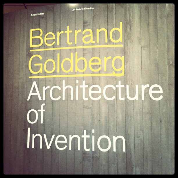 Bertrand Goldberg: Architecture of Innovation exhibit