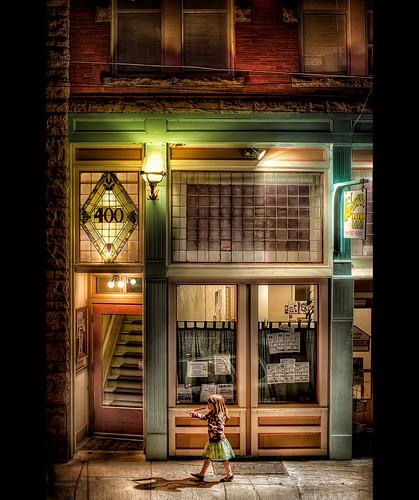 arizona architecture night vintage photography inn nik audreys bisbee photomatix hdrblend dragondaggerphoto bugeyedg