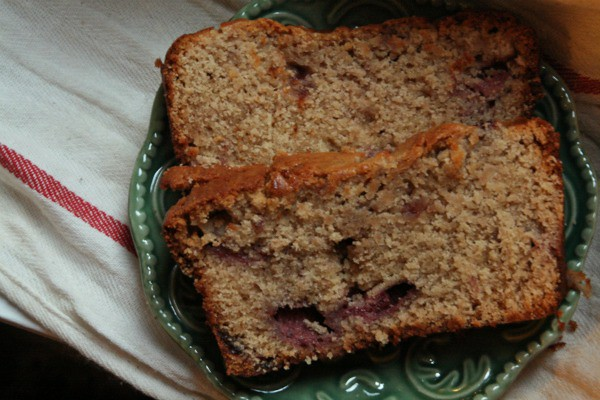Peanut Butter Strawberry Bread2