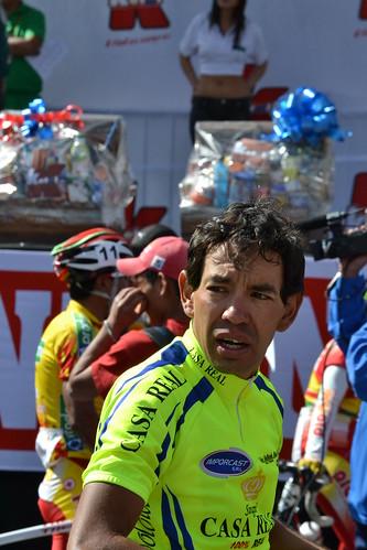 Horacio Gallardo ganó la primera etapa de la Vuelta a Tarija