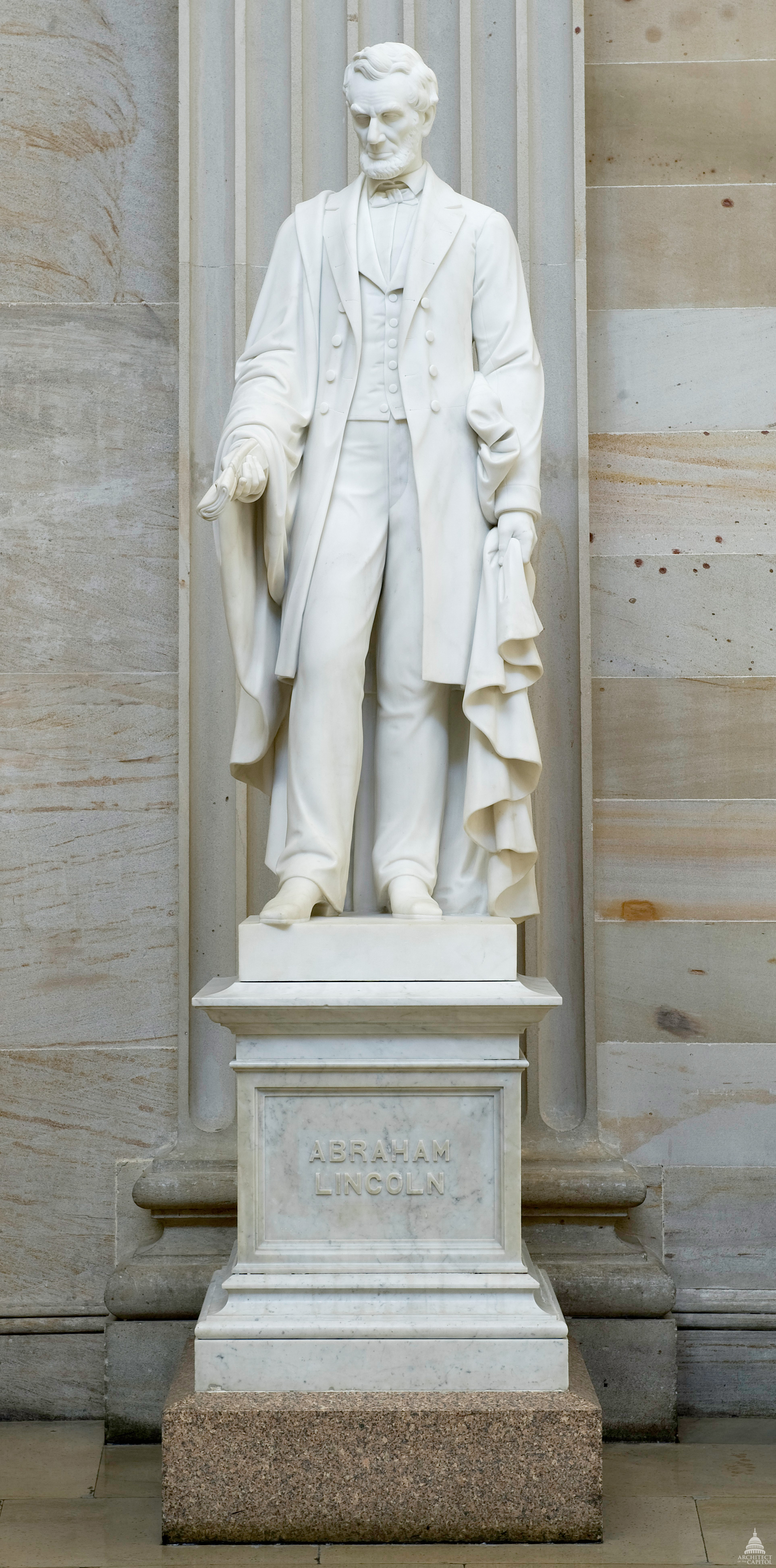 Abraham Lincoln Statue Architect Of The Capitol United