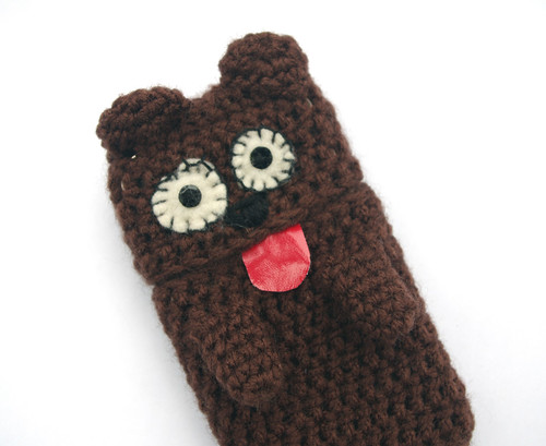 Bear Phone cases wool plush