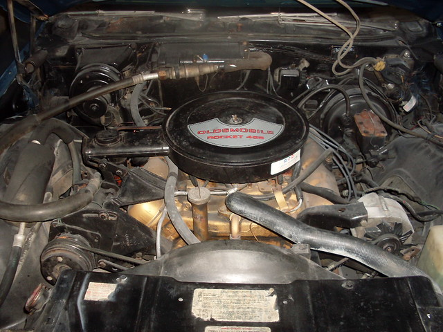 455 Olds Engine Photos http://www.flickr.com/photos/mpioneira-lafer/6348069013/