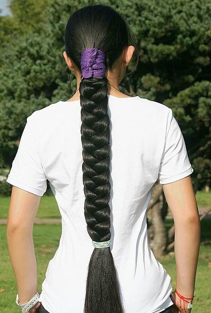 Indian long hair braid - 3 2