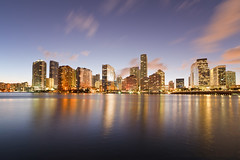 Miami Skyline from Brickell Key