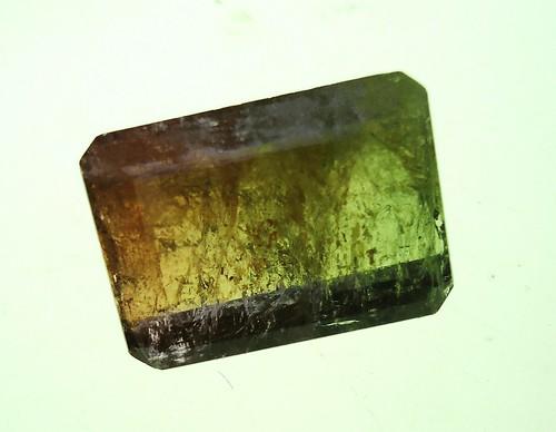 Bi-colored tourmaline (elbaite)