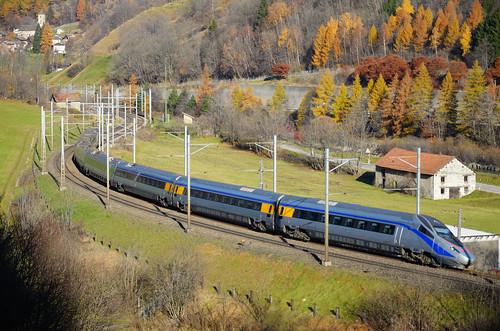 EC 153 - Basel SBB-Venezia S.L. - FS ETR 610.04