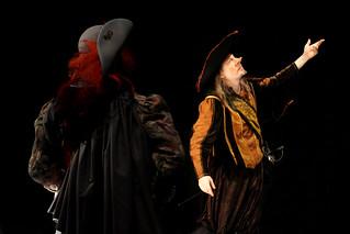 Noé Cendrier dans Cyrano de Bergerac au Théâtre Espace Marais
