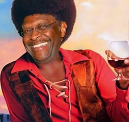 Herman Cain depicted as a stereotypical pimp