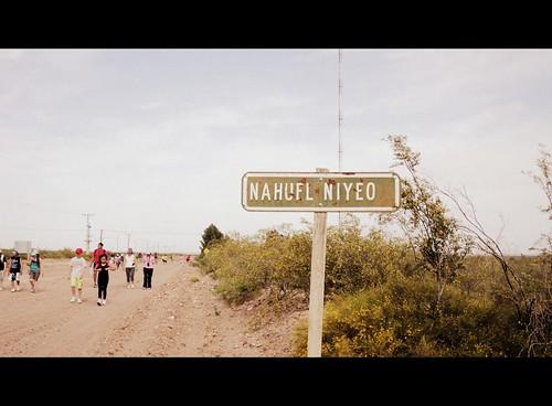 Camino al Arroyo (seco en esta época).