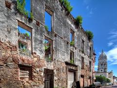 Beautiful Casco Viejo Ruins and Church
