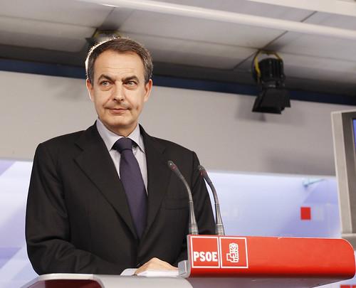 Zapatero tras el 20N