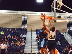 cheering(0.0), championship(1.0), sports(1.0), basketball moves(1.0), basketball(1.0), athlete(1.0), slam dunk(1.0), tournament(1.0),