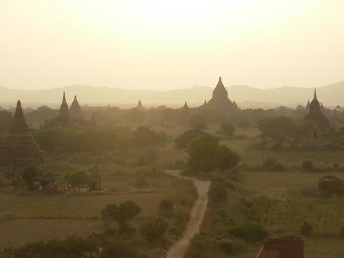 Bagan-Coucher de soleil (5)