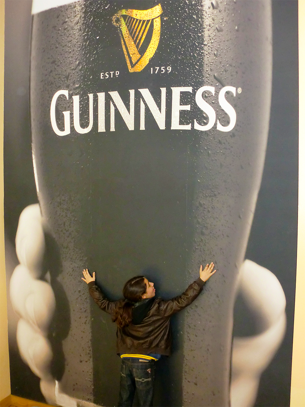 Guinness Storehouse - Dublin, Ireland.