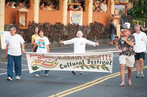 Kona Coffee Festival Parade