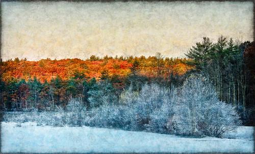 fall landscape nh hancock
