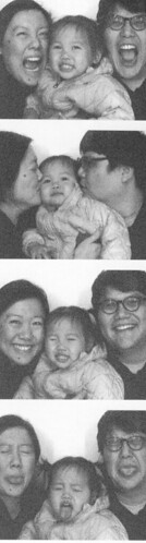 First family photo booth picture