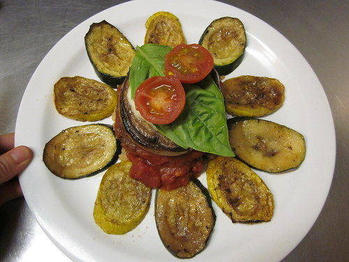 grilled vegetable stack 3
