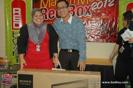 Media Nite Red Box 2011
