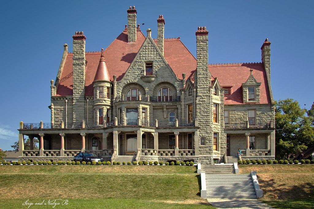 Craigdarroch Castle, Victoria, British Columbia.